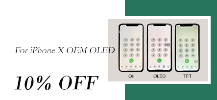 OEM OLED for iPhone x, nice price and quality