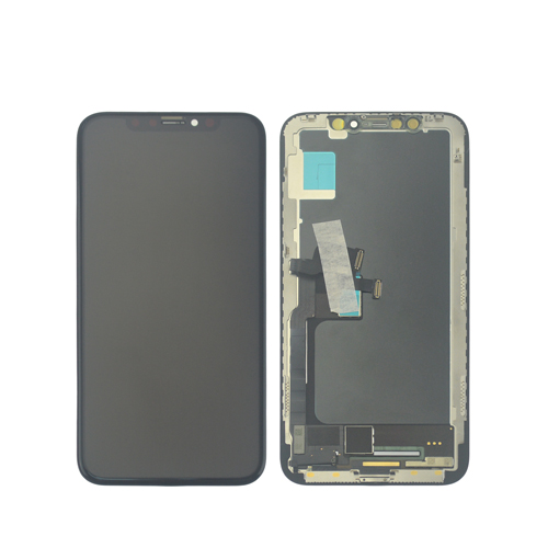 New arrival for iPhone X black Ori assembled in China LCD screen display assembly with frame