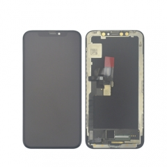 Hot sale for iPhone X change from other flexible OLED screen LCD display assembly with frame