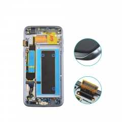 Fast shipping for Samsung Galaxy S7 Edge original LCD with Grade A Glass LCD assembly with frame