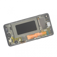 Factory price for Samsung Galaxy S10 display LCD screen digitizer with frame